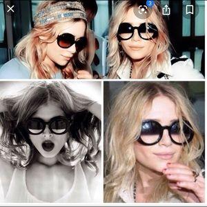 Chanel 5018 RARE half tint sunglasses